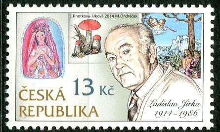 č. 795 ** - ČR - Tradice české známkové tvorby