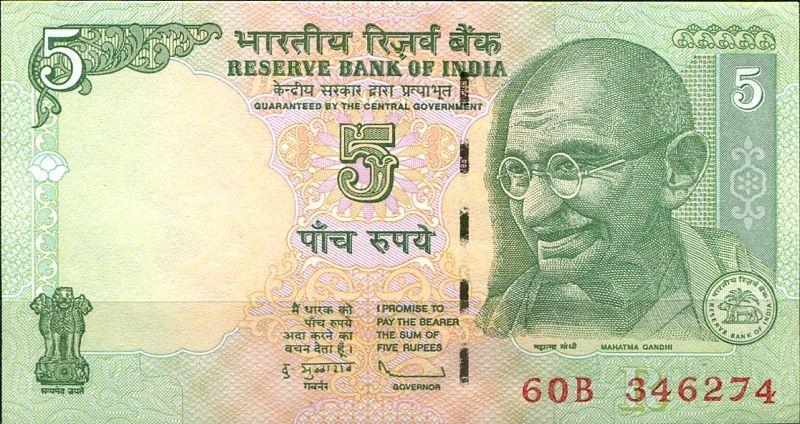 bankovky - Indie