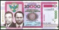 Burundi - (P 43)  10 000 Francs (2009) - UNC