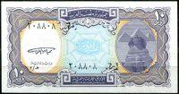 Egypt -(P 189a) 10 PIASTRŮ (1998) - UNC