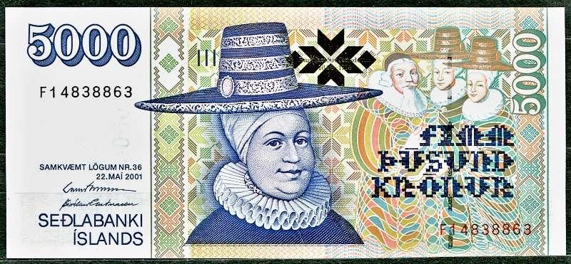 Island - bankovky