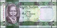 Jižní Sudán - (P 5) 1 POUND (2011) - UNC