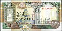 Somálsko - (R2 ) 50 Shillings (1991) - UNC