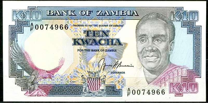 Bankovky - Zambie