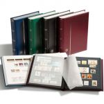 Stock Book COMFORT, A4, 64 black pages, padded cover