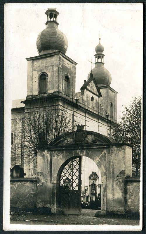 1926 - Kostelec nad Orlicí - Kostel sv. Anny