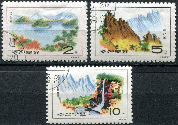 Poštovní známky - Severní Korea