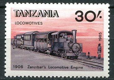 Tanzánie - lokomotiva