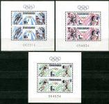 (1988) A 2826 - 2828 ** - Československo - Olympijské hry 1988