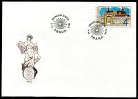 (1993) FDC 7 - Czech republic