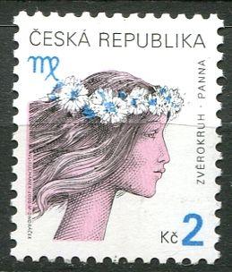 (2000) č. 258 ** - ČR - Znamení zvěrokruhu - Panna