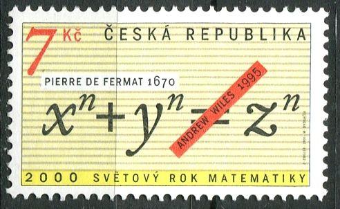 (2000) č. 260 ** - ČR - Rok matematiky