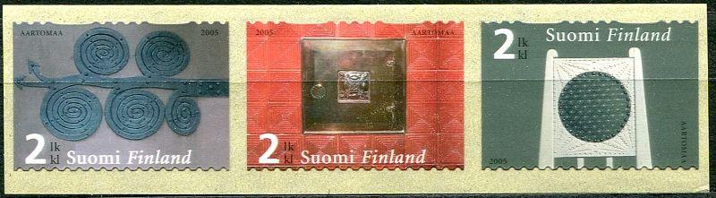 (2005) MiNr. 1738 - 1740 ** - Finsko -  Villa Hvitträsk, Kirkkonummi