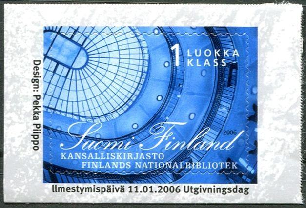 (2006) MiNr. 1779 ** - Finsko -  Finská národní knihovna