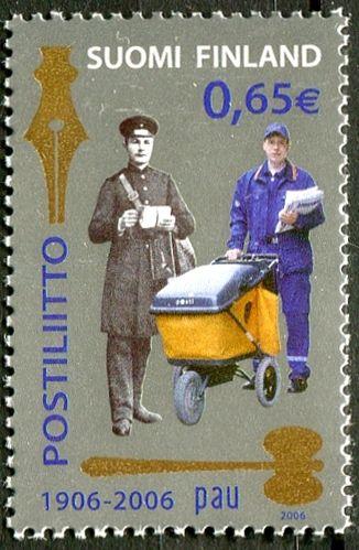 (2006) MiNr. 1780 ** - Finsko -  Historie doručování pošty