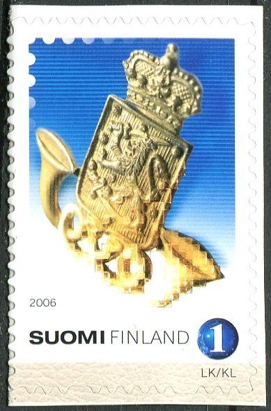 (2006) MiNr. 1811 ** - Finsko - Kokarda finských pošťáků