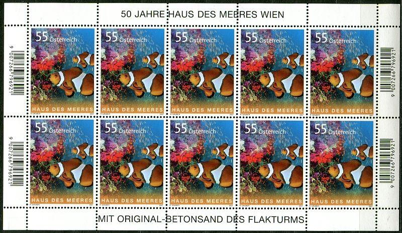(2007) č. 2694 ** - Rakousko - PL - mořská ZOO
