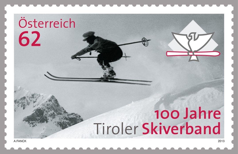 MiNr. 3103 ** - Rakousko - Lyžování v Tyrolsku