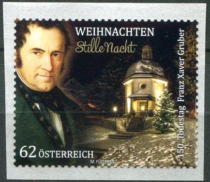 MiNr. 3113 ** - Rakousko - Franz Xaver Gruber