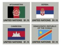(2014) MiNo. 1400 - 1403 ** - UN - series Flags 2014
