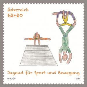 MiNr. 3147 ** - Rakousko - Cvičení a sport mládeže