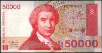 Chorvatsko - (P 26) 50 000 DINAR 1993 - UNC