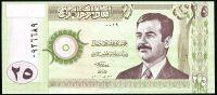 Irák - (P 86) 25 Dinars (2001) - UNC