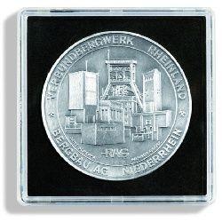 Leuchtturm Kapsle na mince QUADRUM XL - prům. 46 mm (bal. 5 ks)
