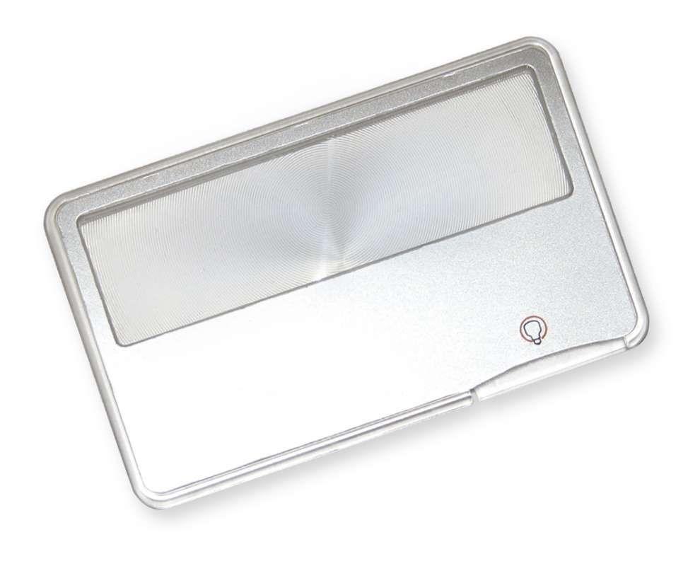 Carson Optical (USA) Kreditka - lupa 3x s LED Carson MC-99