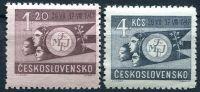 (1947) č. 456 - 457 ** - Československo - I. světový festival mládeže