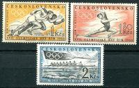 (1960) MiNo. 1206 - 1208 ** - Czechoslovakia - postage stamps