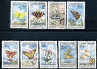 (1961) MiNo. 1301 - 1309 ** - Czechoslovakia - post stamps