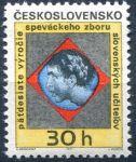 (1971) č. 1892 ** - Československo - 50 let Pěvec. sboru slovenských učitelů