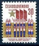 (1971) č. 1910 ** - Československo - 50. výročí FDTJ