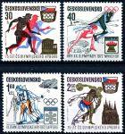 (1971) č. 1933 - 1936 ** - Československo - 75 let ČSOV a olympijské hry 1972
