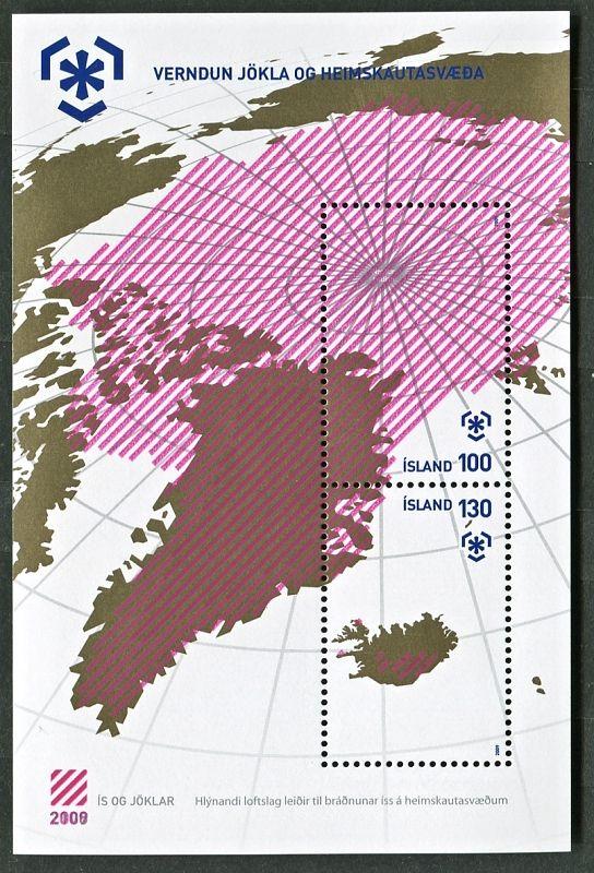 (2009) MiNr. 1223-1224 ** - Island - BLOCK 46 - Ochrana polárních krajů