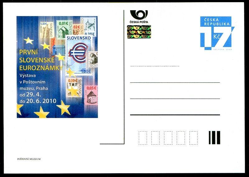 (2010) CDV 115 ** - PM 75 - Slovenské EURO známky