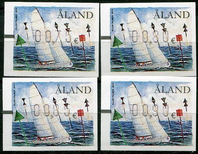 (2010) MiNr. ATM 21 ** - Aland - automatové zn. 2010 - série