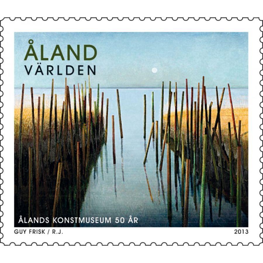 (2013) MiNr. 369 ** - Aland - 50 roků Alandského muzea umění