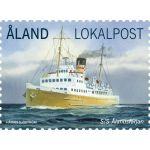 "(2013) MiNr. 370 ** - Aland - Loď ""S/S Ålandsfärjan"""