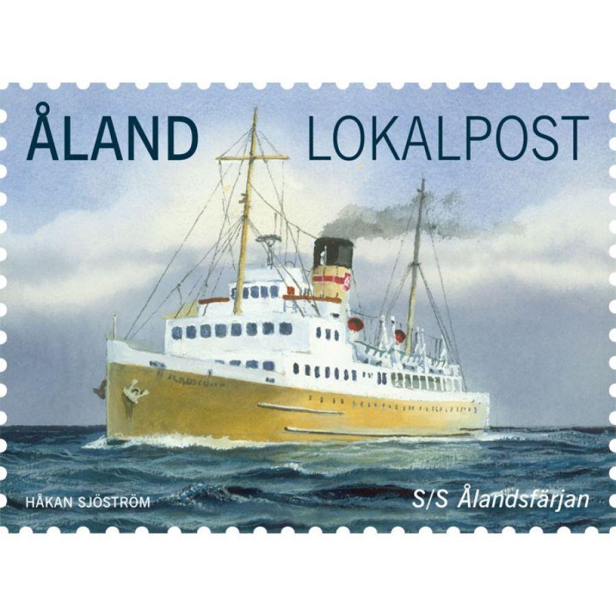 """(2013) MiNo. 370 ** - Aland Island -Ship """"S/S Ålandsfärjan"""""""