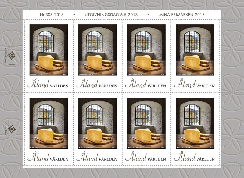 (2013) MiNr. 375 ** - Aland - PL - sýr z Alandu