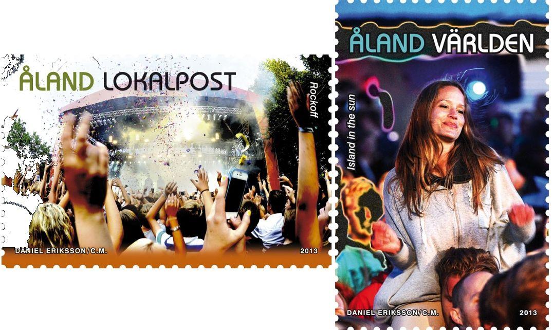 (2013) MiNr. 379 - 380 ** - Aland - Hudební festivaly