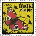 (2013) MiNr. 382 ** - Aland - Paví motýl