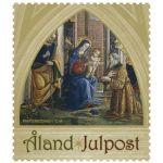(2013) MiNr. 385 ** - Aland - Vánoční známka