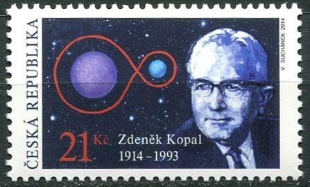 (2014) č. 803 ** - ČR - Zdeněk Kopal 1914-1993