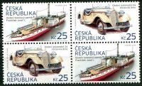 (2014) č. 810 - 811 ** - Česká republika - 2-bl - Historické dopravní prostředky