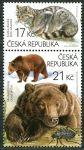 Zobrazit detail - (2014) č. 815-816 ** - Česká republika - sp - Ochrana přírody:  Beskydy