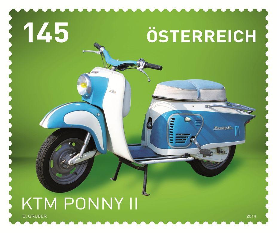 Motocykly - KTM Pony II