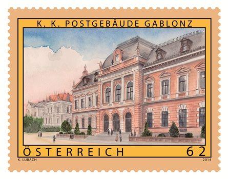 (2014) MiNr. 3120 ** - Rakousko - Staré Rakousko - Gablonz (Pošta - Jablonec nad Nisou)